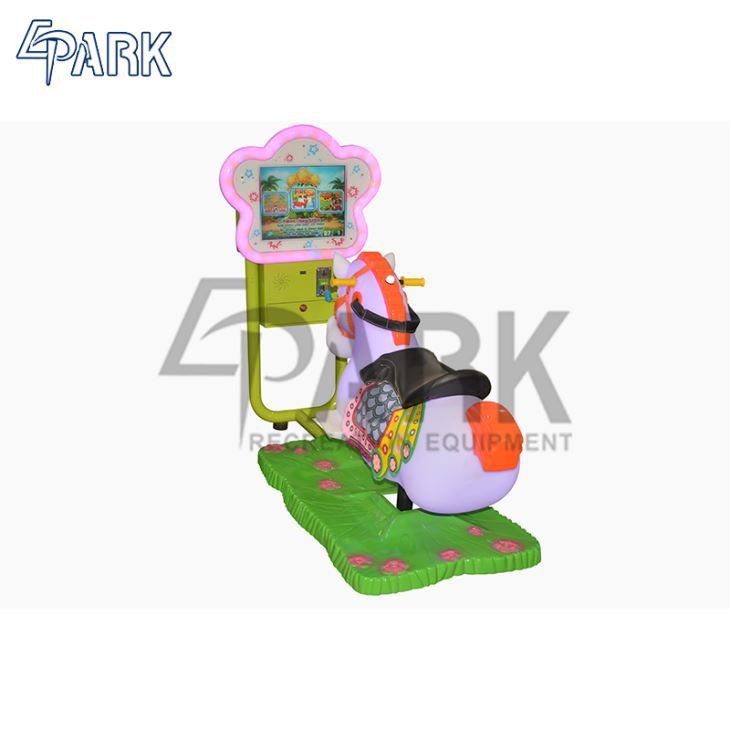Coin Operated Kiddie Rides Swing Car